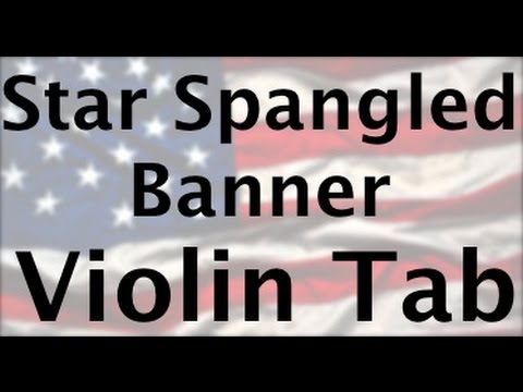 Learn Star Spangled Banner on Violin - How to Play Tutorial