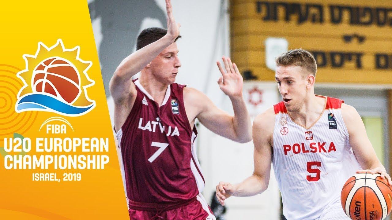 Poland v Latvia - Full Game - FIBA U20 European Championship 2019
