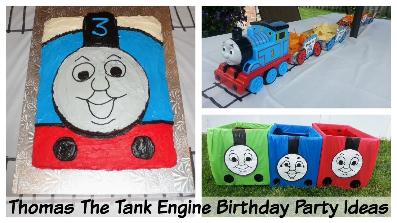 Thomas The Tank Engine Birthday Party Ideas Fun And Easy Youtube