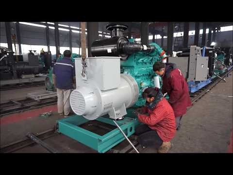 Electric Power Generators Cummins Perkins Volvo Generator Assembly in Factory
