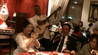 Joel & Vanessa - Singapore Wedding Peony Jade Clarke Quay