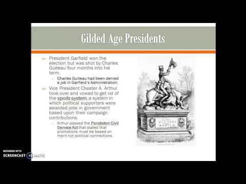 The Gilded Age 1865-1910