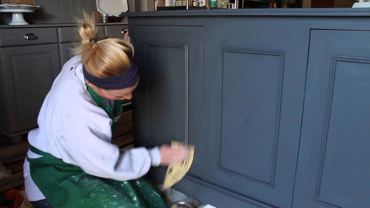 distressed blue furniture. How To Distress Painted Furniture: A Tutorial From Chic California - YouTube Distressed Blue Furniture R