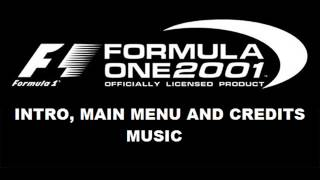 Formula One 2001 PS2 Intro, Main Menu and Credits Theme Game Music Mix HD Version