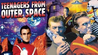 Teenagers From Outer Space (1959) | English Sci Fi Movies | David Love, Bryan Grant