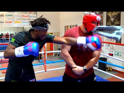 KSI PUNCHED ME IN THE FACE *not clickbait*