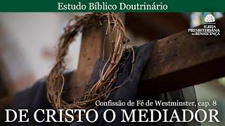 Estudo doutrinário - De Cristo o mediador (CFW, Cap. 8)