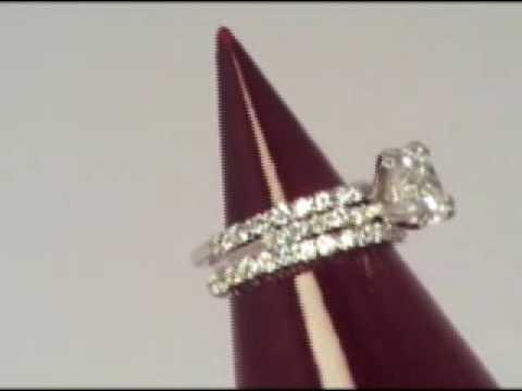 Wedding Ring Trio Set