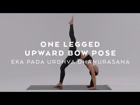 How to do One Legged Upward Bow Pose | Eka Pada Urdhva Dhanurasana Tutorial with Briohny Smyth