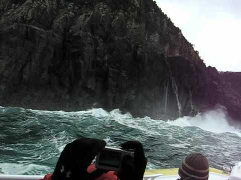 South Tasman Sea Cliffs off Bruny Island - part 1