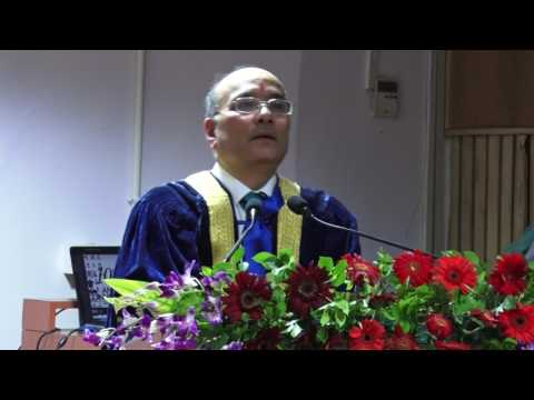 Message by Shri Narendra K Verma on the 10th Annual Convocation Ceremony @ Jaipuria, Jaipur !!