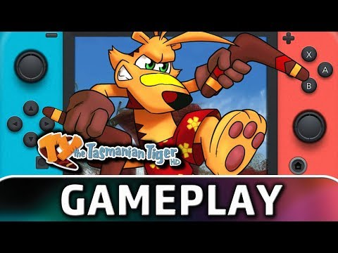TY the Tasmanian Tiger HD | First 20 Minutes on Switch