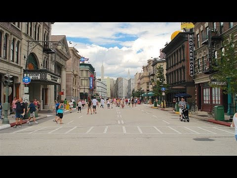Streets of America details and walkthrough at Disney's Hollywood Studios
