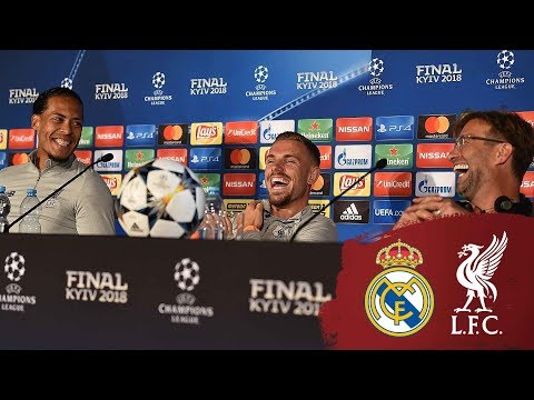 Klopp and players' Champions League press conference from Kiev | Real Madrid