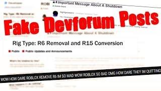 Fake ROBLOX Devforum Posts