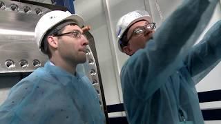 Испытания герметизирующего фланца верхнего порт-плага. Криогенмаш, Балашиха. Июнь 2017 г.