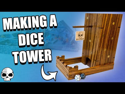 How to make a Dice Tower