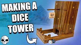 How to make a Dice Tower | WICKED MAKERS