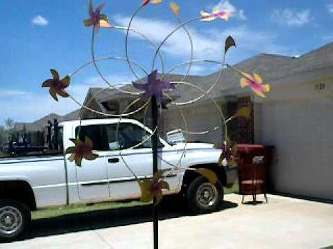 Kinetic art wind Zepher trip Mac Powell