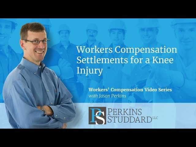 Workers Compensation Settlements For A Knee Injury Youtube