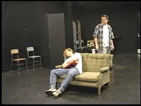 Scene from Orphans by Lyle Kessler - 1st Staging