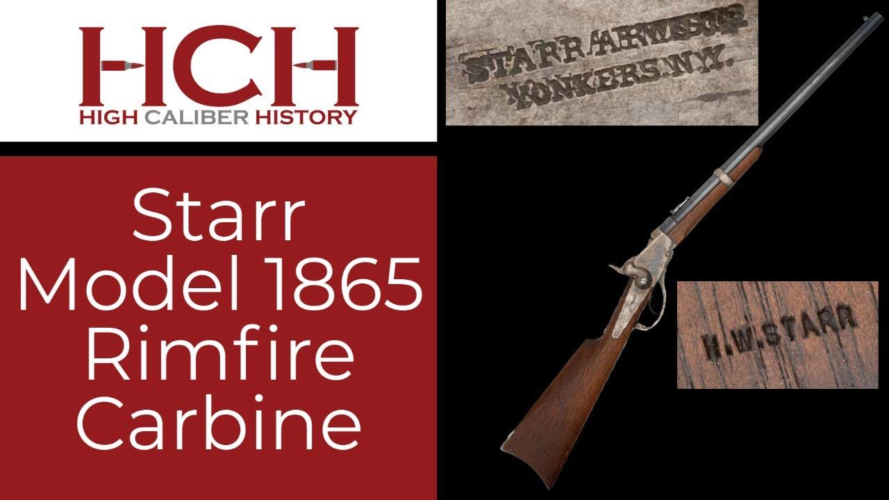 Starr Model 1865 Rimfire Carbine