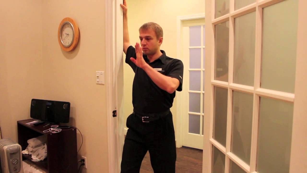 Ask the Chiropractor: Common Stretches – http://www ...  |Pectoralis Major Stretch