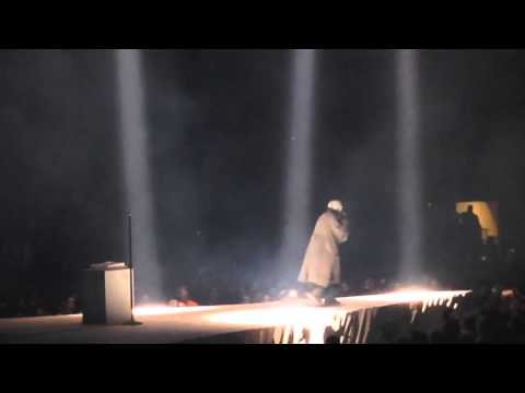 Kanye West Nike Rant Red October Air Yeezy 2 Philly Yeezus Tour
