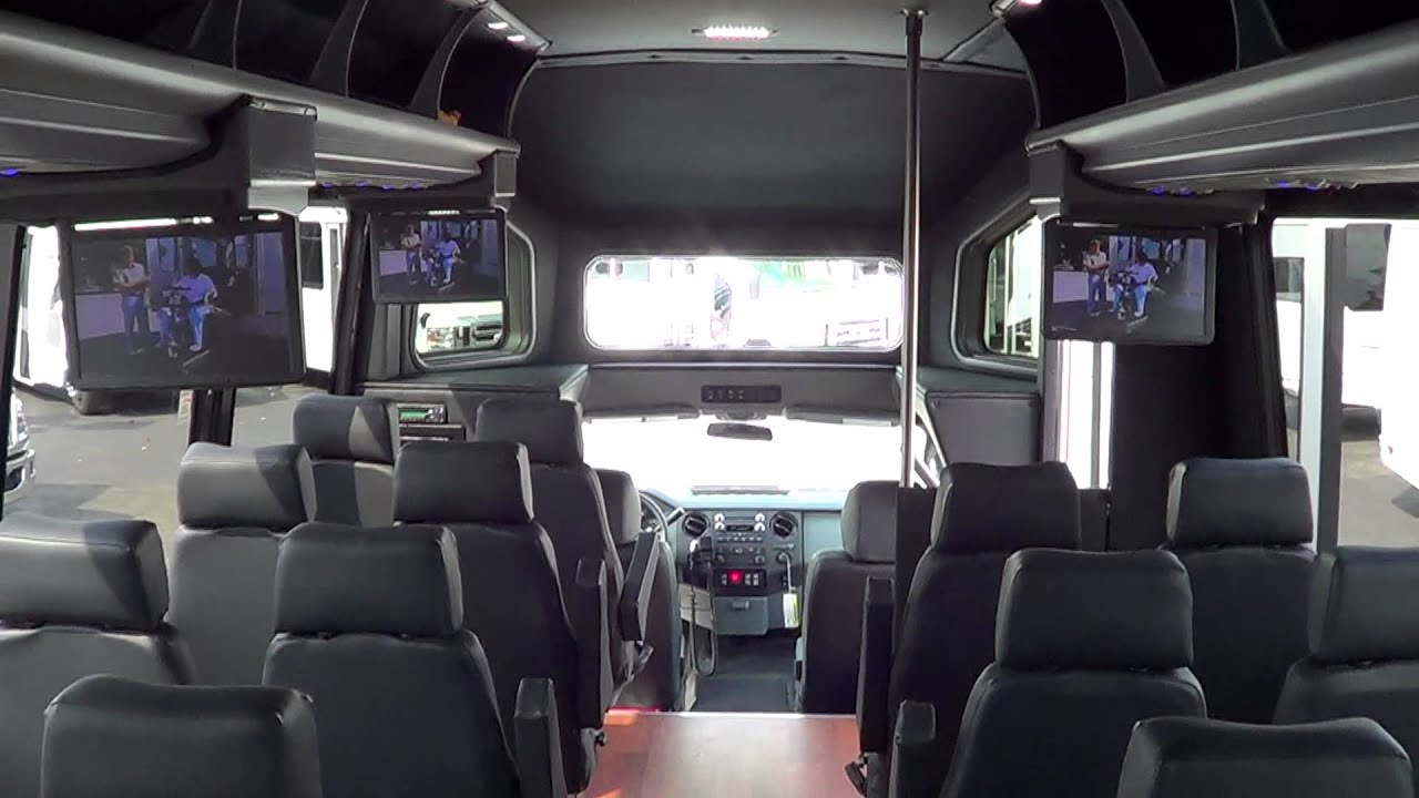 Northwest Bus Sales New 2013 Ford F550 Ameritrans 28