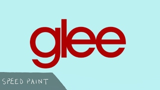 Glee - Speed Drawing (Shortened Version)