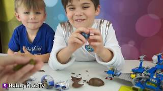Outer Space Science! STAR WARS HobbyScience Lab Star Facts and Galaxy Chocolate HobbyKidsTv