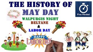 The History of May Day and Labor Day for Kids