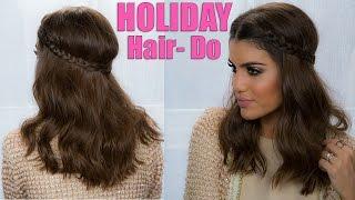 Braided Holiday Hair Thumbnail