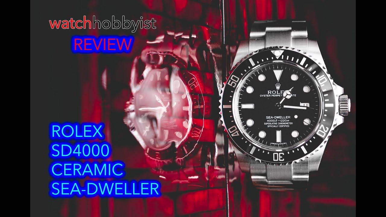 Rolex Sea Dweller 4000 Discontinued