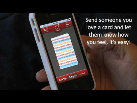 SendOutCards New Apple and Android Greeting Card App