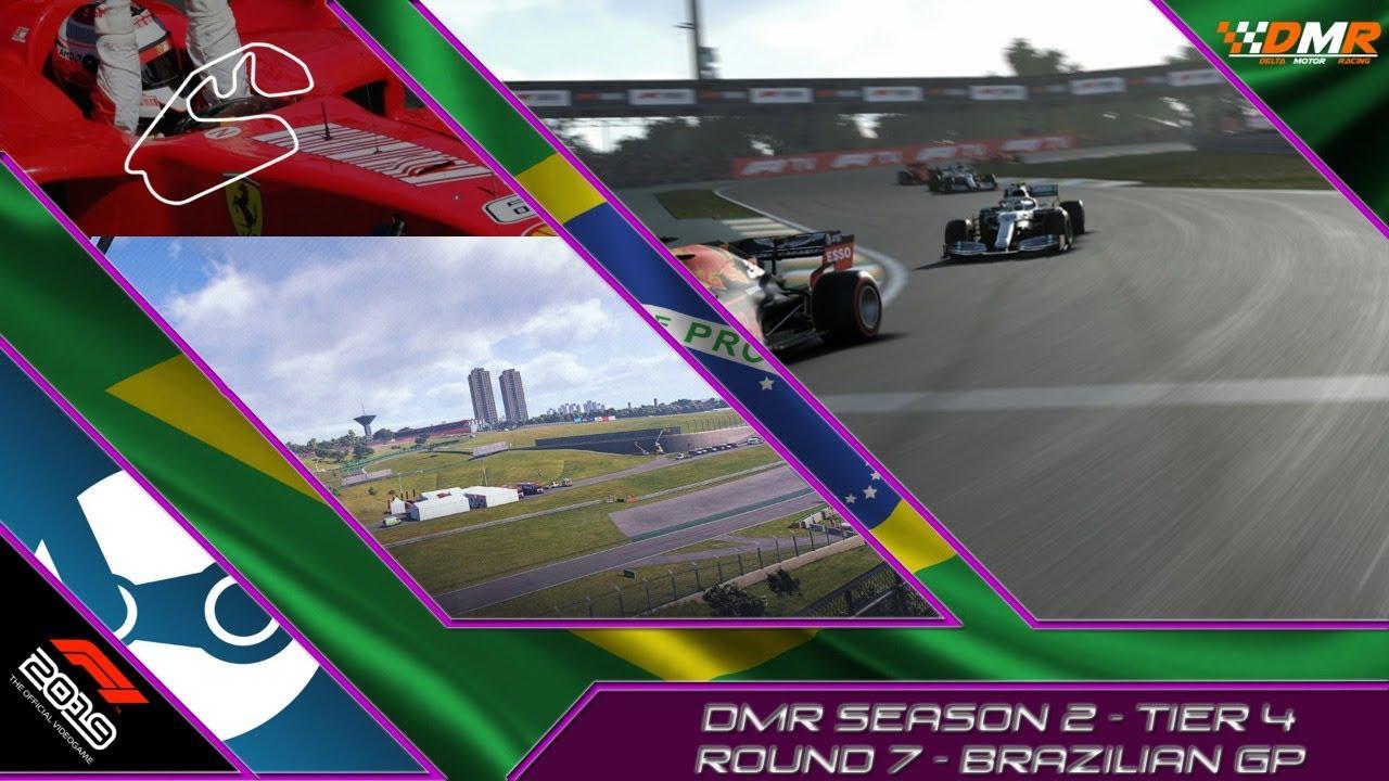 F1 2019   Delta Motor Racing   Tier 4   S2 R7   Brazilian GP