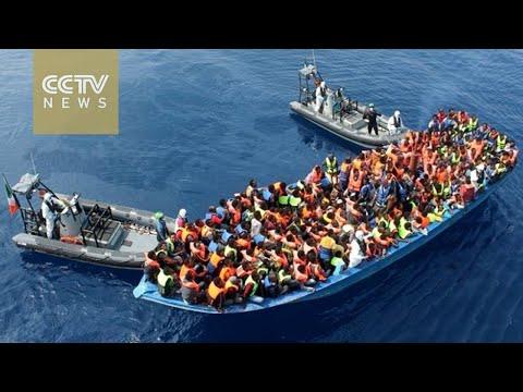 Italian coast guard rescues 246 migrants in Mediterranean Sea