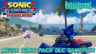 Sonic & All Stars Racing Transformed: Outrun Bay & Metal Sonic DLC [1080p HD]