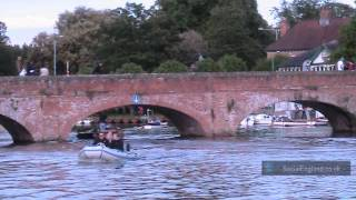 Stratford Upon Avon Riverside Scene (June Bank Holiday 2012)
