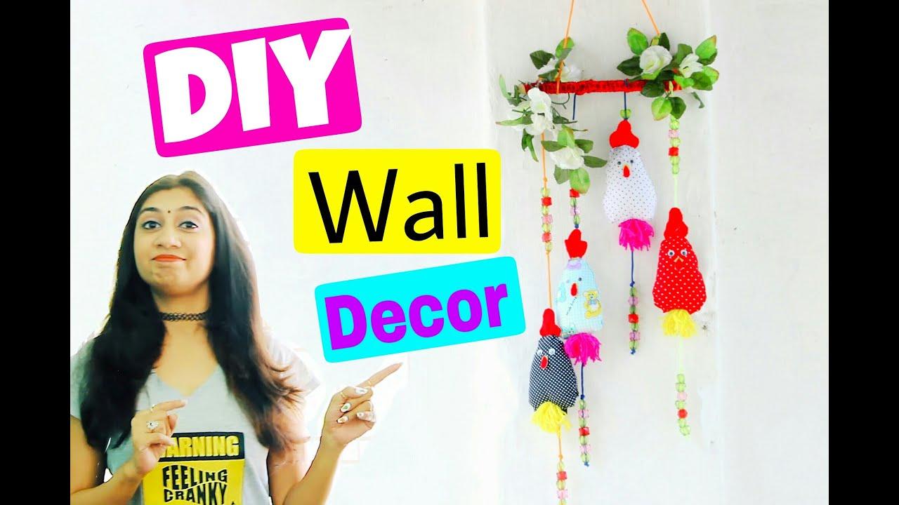 Diy wall decor idea diy wall hanging decor youtube amipublicfo Gallery