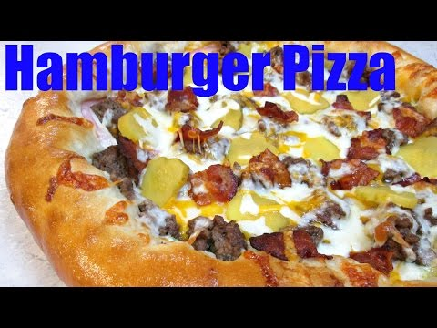 Hamburger Pizza: Bacon Cheeseburger Pizza Recipe