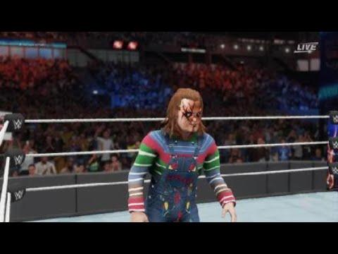 WWE 2K18 Chucky vs Jason