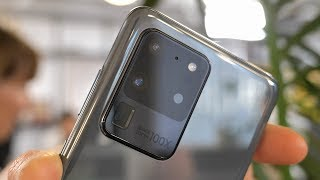 Samsung Galaxy S20 Ultra | Camera Tour | 100x Space Zoom Beast!