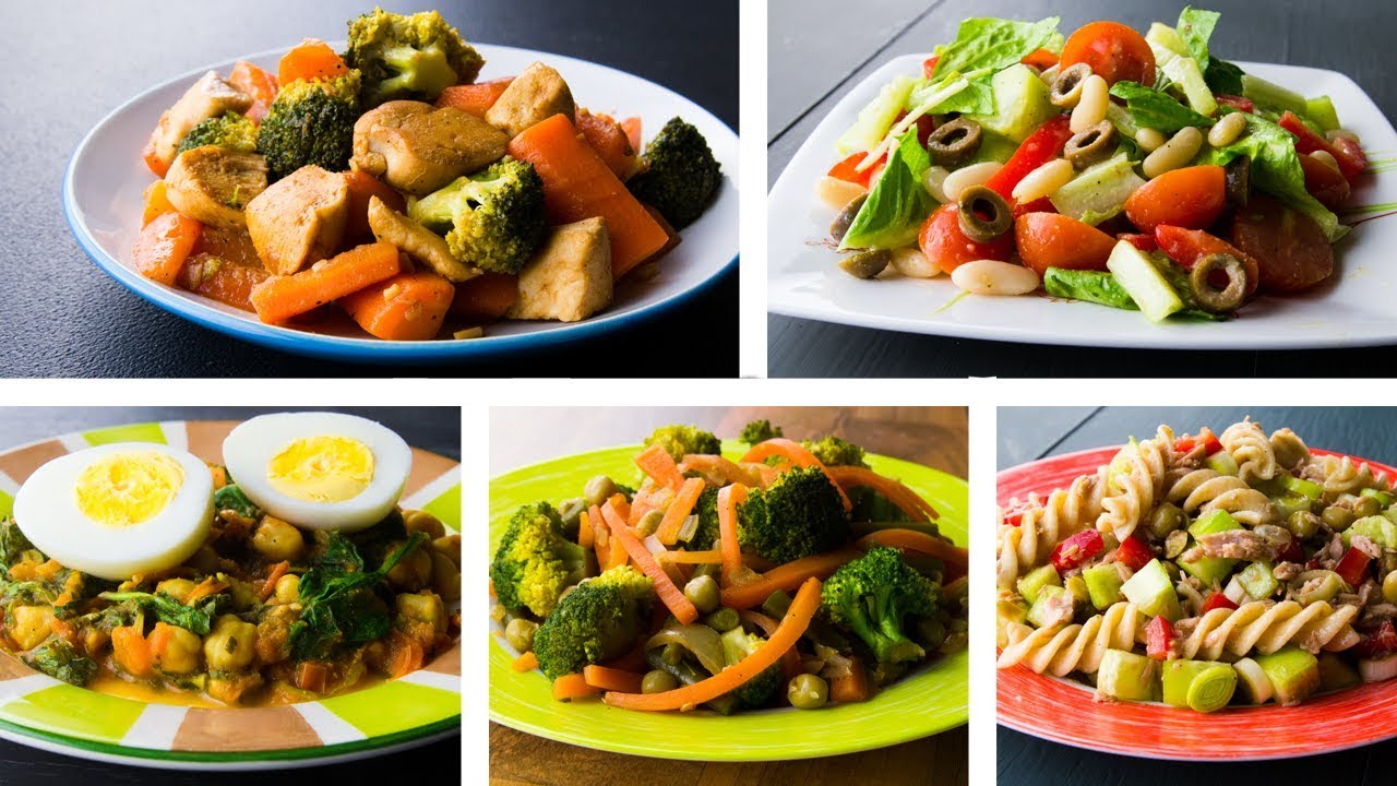 5 Healthy Low Calorie Recipes For Weight Loss Youtube