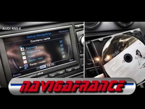 Renouvellement Triplex Navigation GPS sur SMB pour AUDI et VW