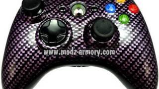 Purple Carbon Fiber Controller | Modz Armory