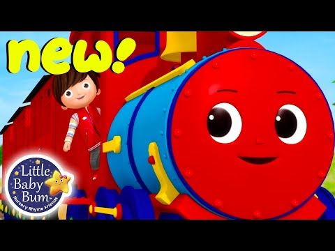 Choo Choo Train Song | BRAND NEW! | Little Baby Bum Nursery Rhymes & Kids Songs | Songs for Children