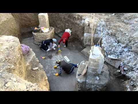Osmaniye'de inşaat alanından tarih fışkırdı