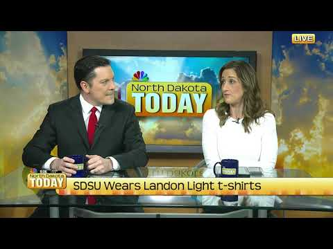 NDT SDSU wears Landon Light t shirts