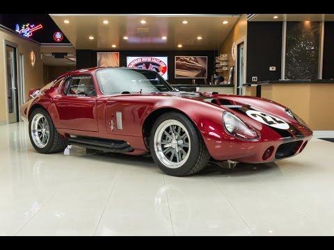 1964 Shelby Daytona Coupe Factory Five Recreation For Sale